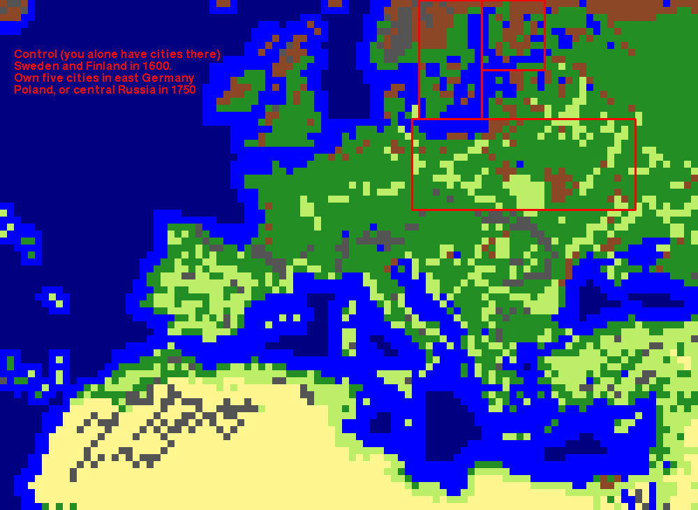 Rhyes And Fall Of Civilizations Europe AD - Sweden map 1600